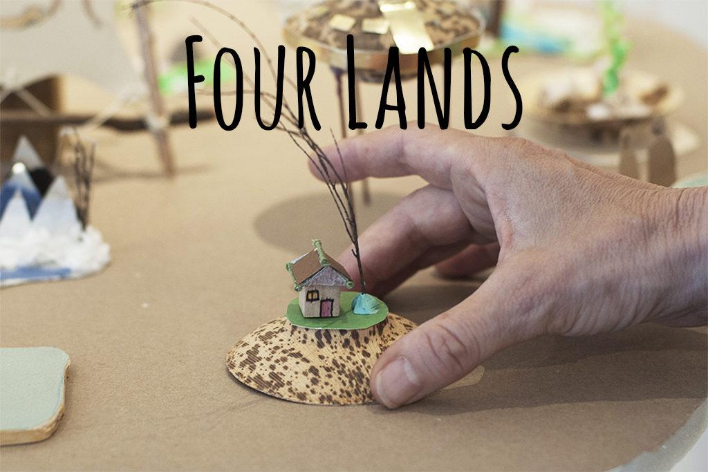Four Lands Button