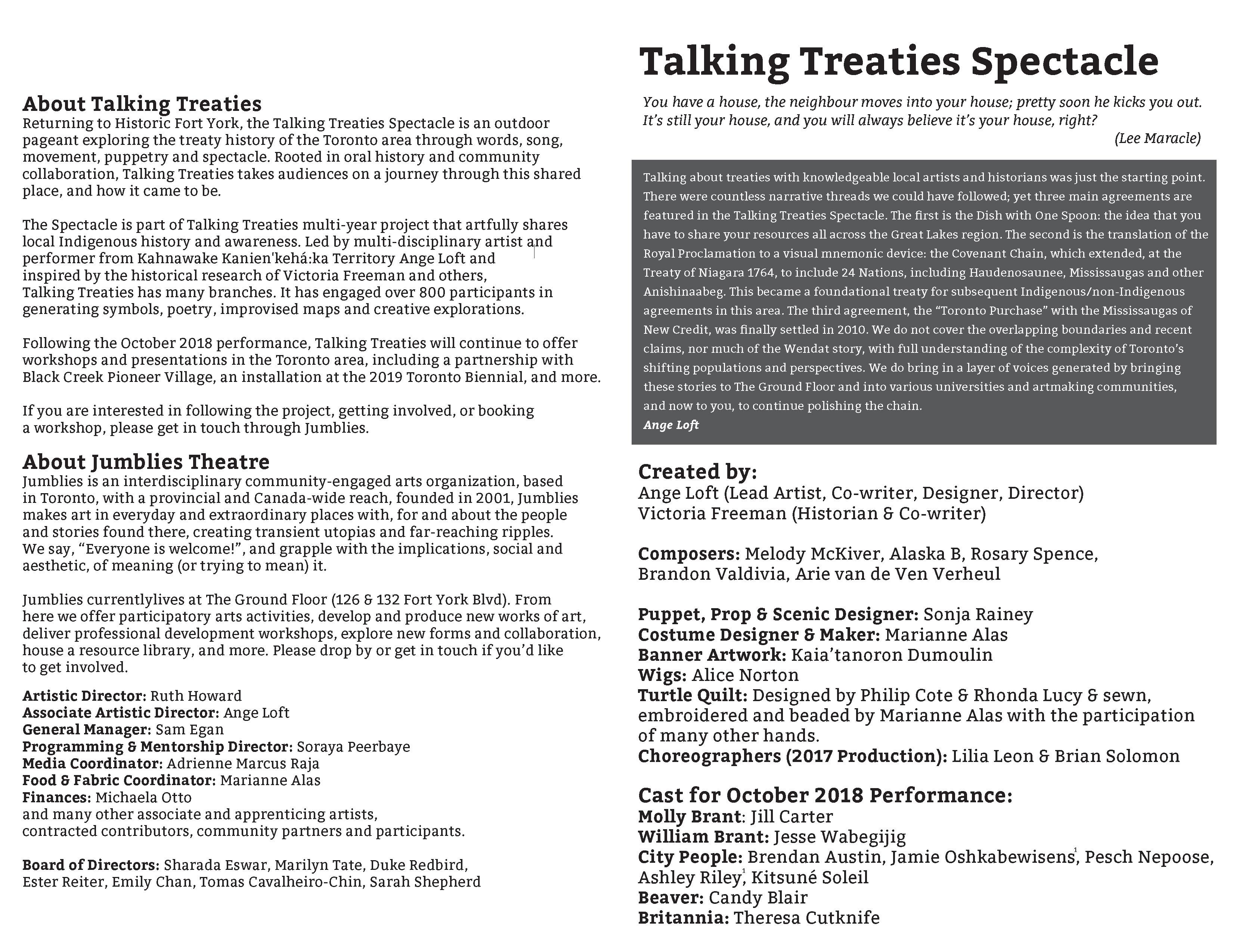 Talking Treaties